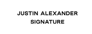 Logo Justin Alexander / Haus der Mode in Wetzlar