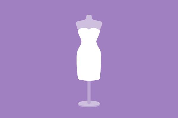 Hochzeitskleider Silhouette Etuikleid / Haus der Mode in Wetzlar