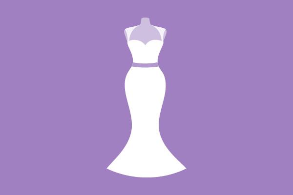 Hochzeitskleider Silhouette Meerjungfrau / Haus der Mode in Wetzlar
