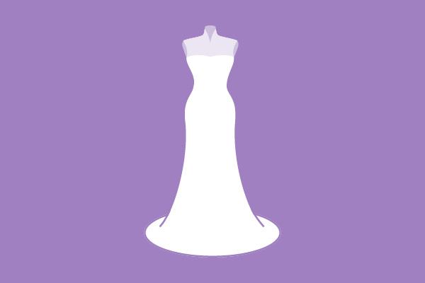 Hochzeitskleider Silhouette Trompete / Haus der Mode in Wetzlar