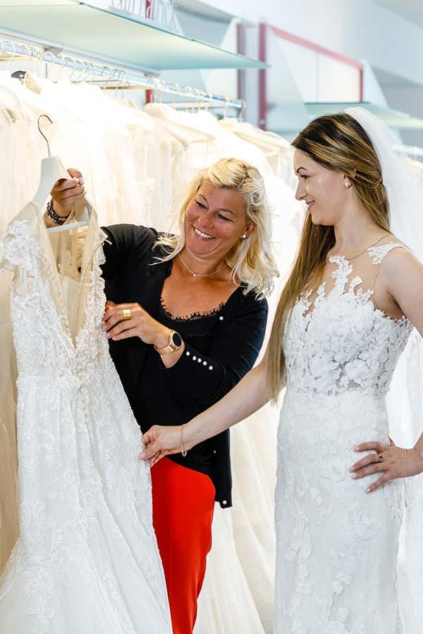 Beratung im Hochzeitshaus Haus der Mode in Wetzlar bei Wetzlar und Limburg
